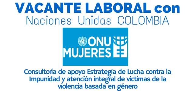 ONU Mujeres abre oferta laboral en Colombia