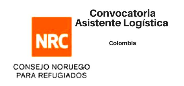 Convocatoria Asistente Logística  – NRC