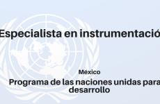 Especialista en instrumentación de los compromisos nacionalmente determinados