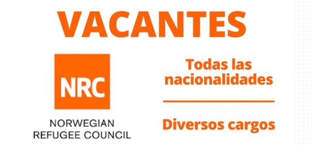 Convocatoria laboral con el Consejo Noruego de Refugiados – NRC