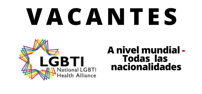 Vacantes laborales con la National LGBTI Health Alliance en Australia