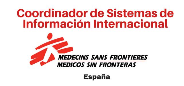 Vacante coordinador de Sistemas de Información Internacional  – Médicos sin Fronteras