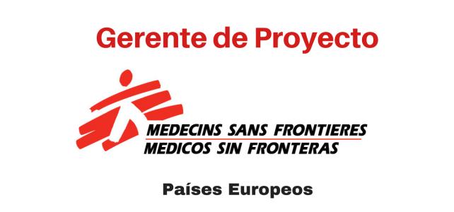 Vacante Gerente de Proyectos con Médicos sin Fronteras