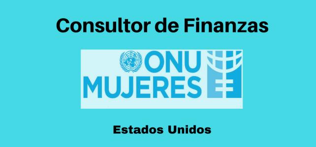 Vacante Consultor de Finanzas con ONU MUJERES