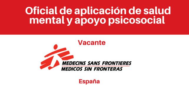 Convocatoria Oficial de Salud Mental y Apoyo Psicosocial (MSF)