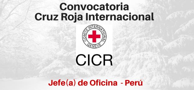 Convocatoria Jefe (a) de oficina CICR