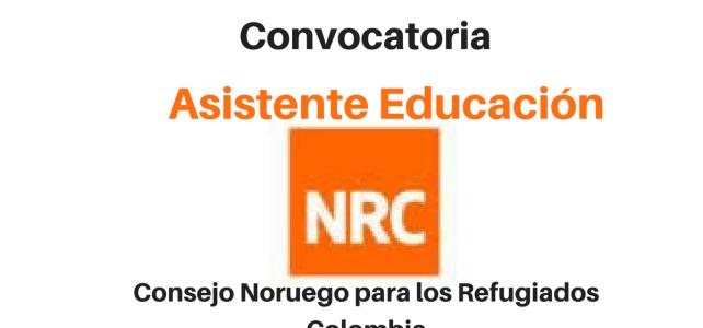 Convocatoria Asistente Educación con NRC
