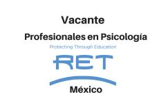 Vacante Profesional en psicología con RET