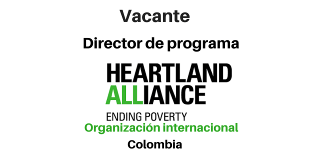 Vacante Director de Programa Heartland Alliance