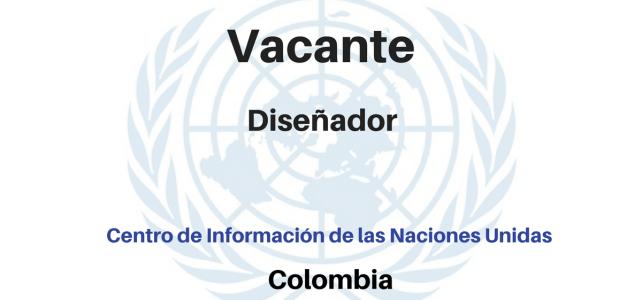 Vacante Diseñador gráfico con Naciones Unidas