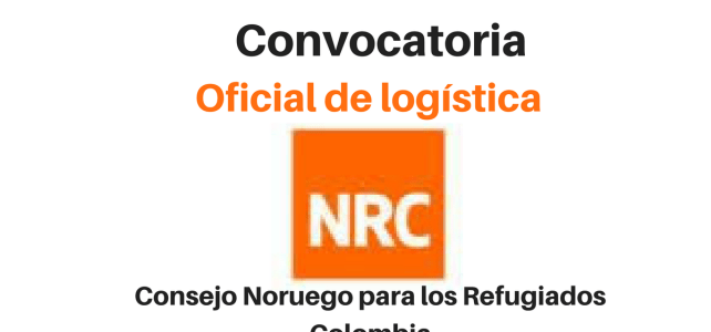 Convocatoria Oficial Logística con NRC