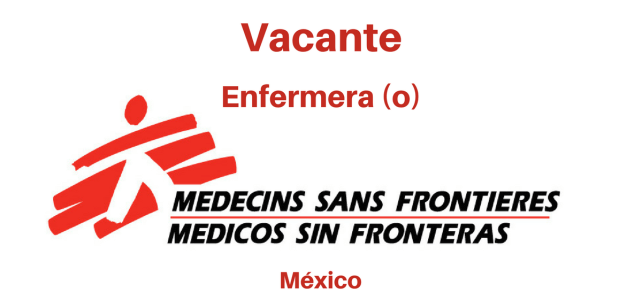 Vacante Enfermera(o) MSF