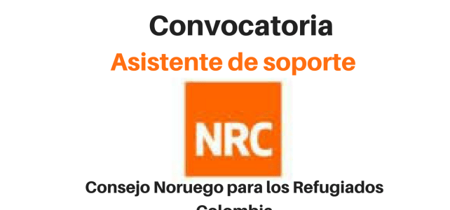 Vacante Asistente de soporte NRC