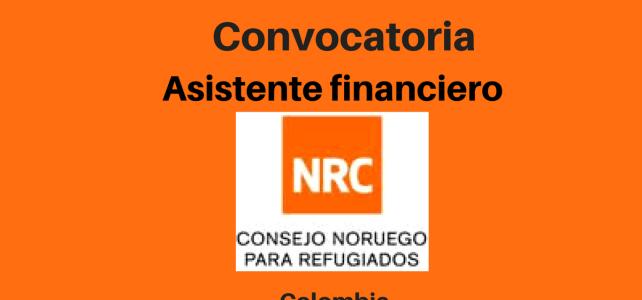 Vacante Asistente financiero NRC