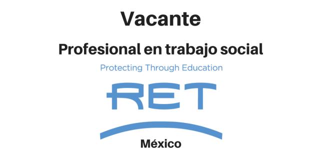 Vacante Profesional en Trabajo Social RET