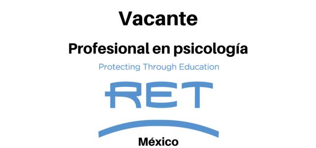 Vacante Profesional en Psicología RET