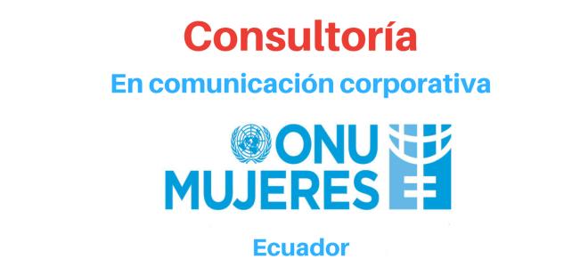 Consultoría en comunicación corporativa (asistente de comunicación) ONU mujeres