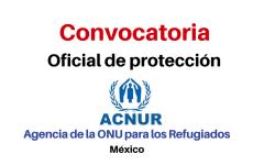 Convocatoria Oficial de Protección ACNUR