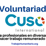 Voluntariado con Cuso