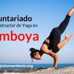 Voluntariado clases de Yoga