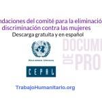 CEPAL Documento discriminación contra las mujeres