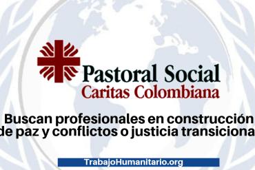 Pastoral social Caritas Colombia