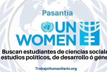 Pasantía con ONU Mujeres
