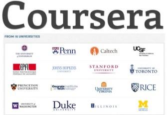 Cursos online do Coursera
