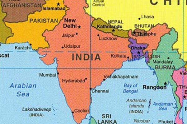 mapa da india → Mapa da Índia Cidades: Conheça as Regiões da Índia mapa da india