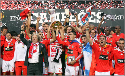 benfica Campeao 2010