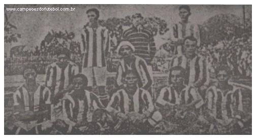 O primeiro time do Paysandu, em 1914