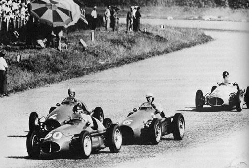 primeira corrida de fórmula 1 em 1950
