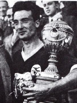 Rogério com a Taça Latina