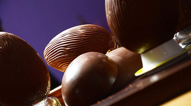 Degustação de ovos de chocolate, testados pela Folha/04.03.2016