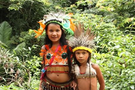 Os indígenas são uma das etnias que marcaram a formação do povo brasileiro.¹