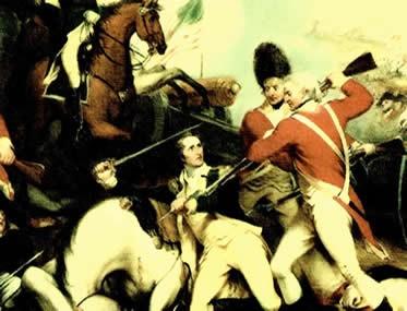 A independência dos EUA foi conquistada com o apoio militar francês e espanhol.