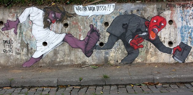 Arte de rua - grafite