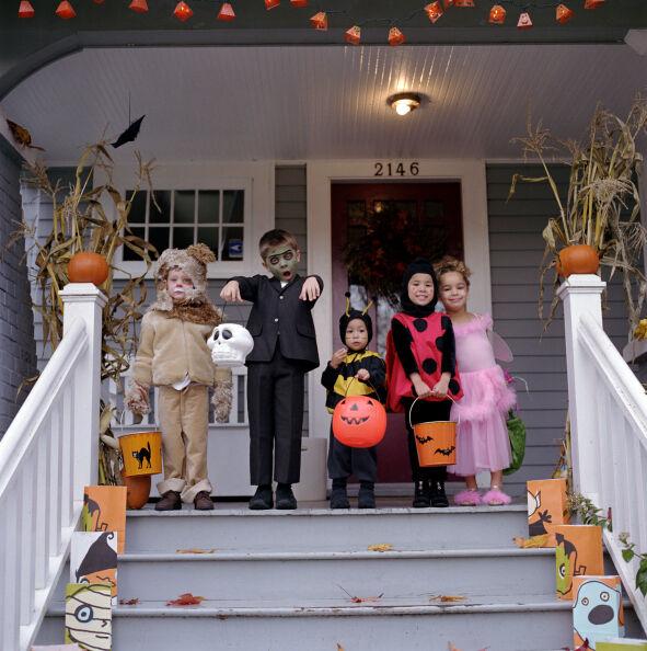 halloween criancas