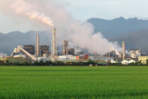 Emissão de gases de efeito estufa e aquecimento global