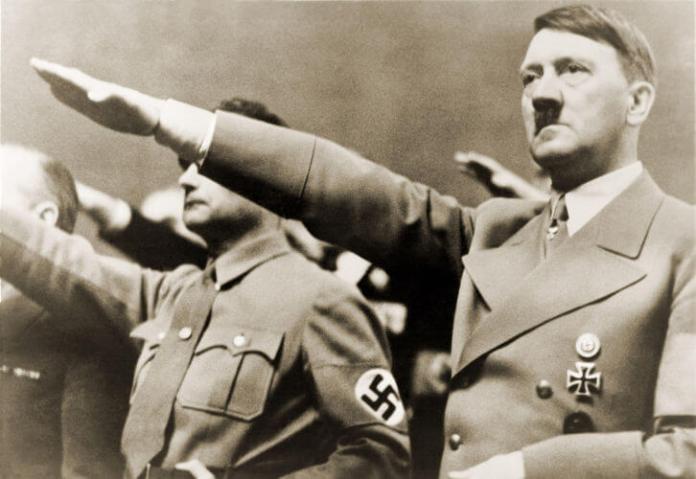 O expansionismo germânico foi posto em prática por Adolf Hitler, o líder da Alemanha Nazista.*