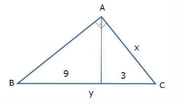 Exemplo relações métricas