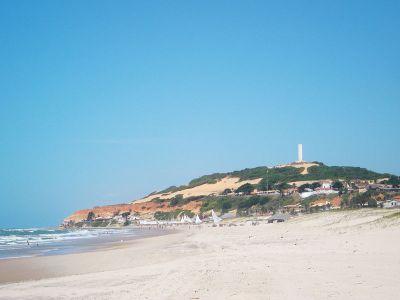 Praia de Morro Branco   Pontos Turísticos