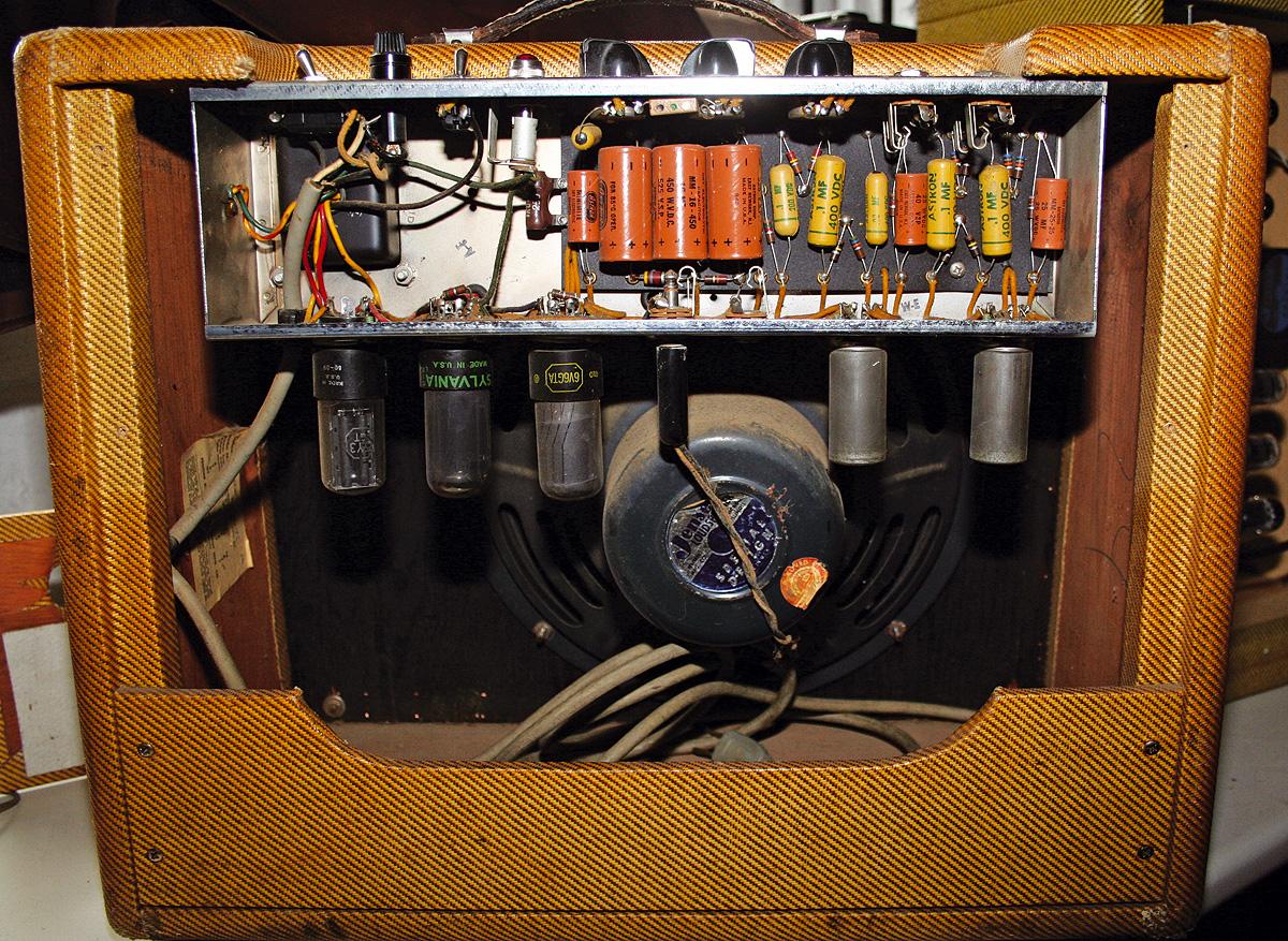 Fender 5e3 Tweed Deluxe Amp Build
