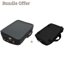 "Image is a composite of two photographs, of the Trabasack Max and Trabasack Mini. Text reads ""Bundle offer - Trabasack Max and Trabasack Mini"""