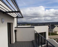 terrasse solarium contemporain