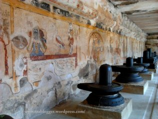 Murals and Shiva Linga