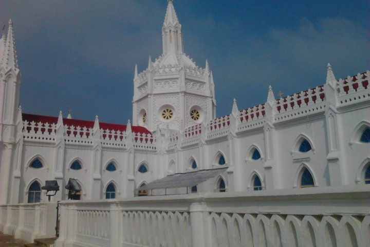Grand Architecture of Velankanni