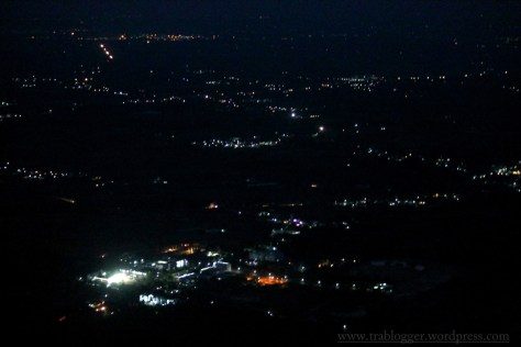 night view from skandagiri