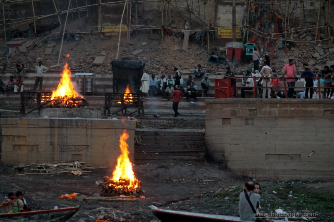 Cremation at Varansi