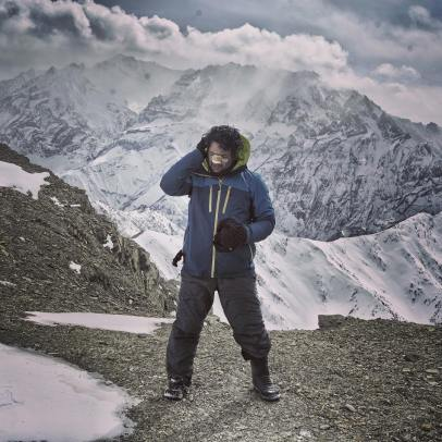 rahul datta at high altitude
